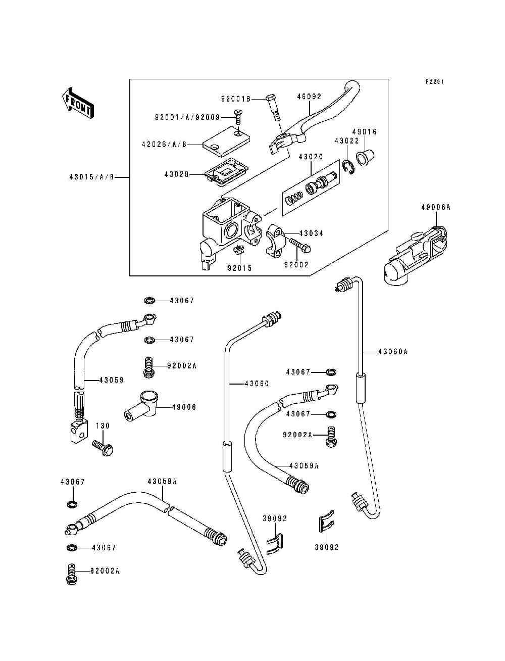Запчасти на квадроциклы Kawasaki 1992 года Bayou 300 4X4 (KLF300-C4)