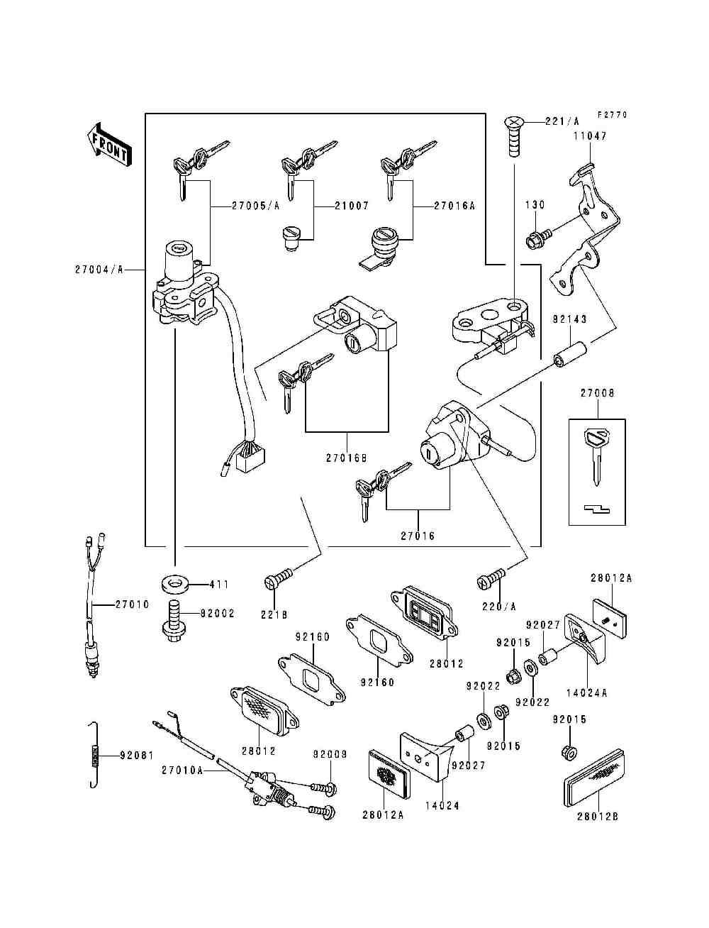 Схема замка зажигания дельта