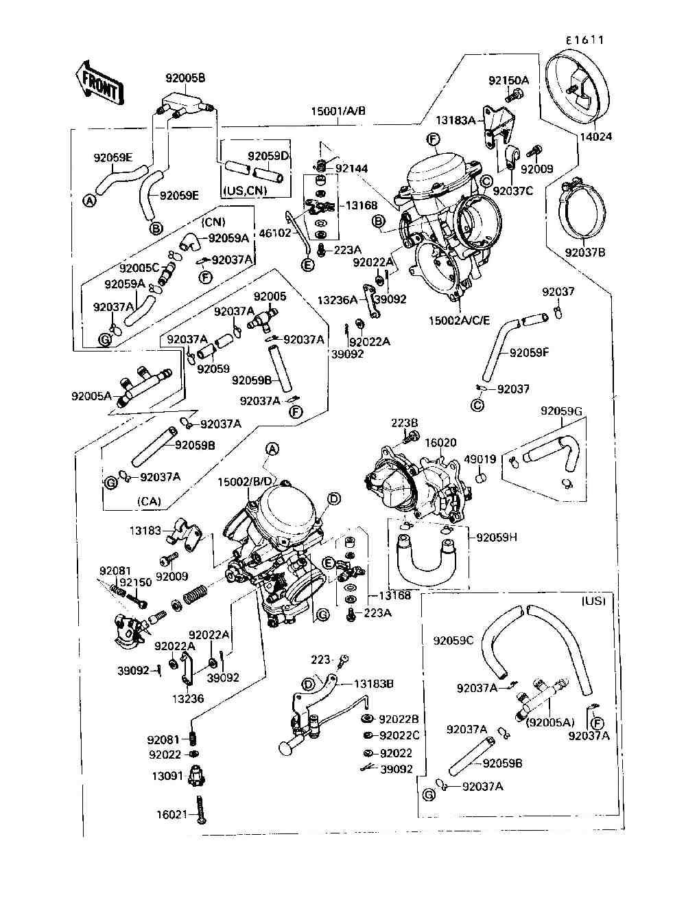kawasaki vergaser einstellen  u2013 motorrad bild idee