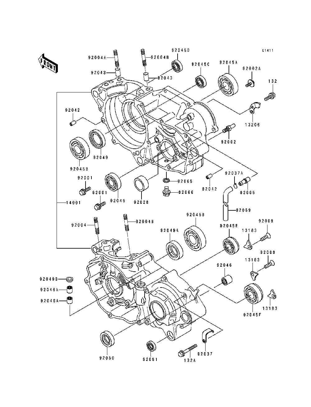 arctic cat 650 atv parts diagram html
