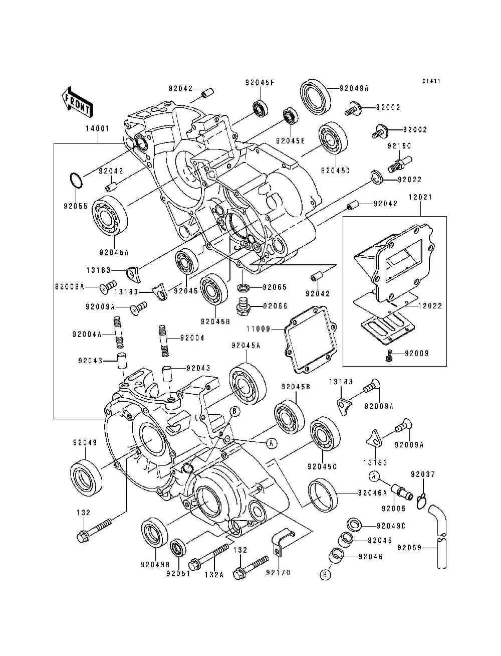 spaccato motore ktm 125 exc  u2013 idee per l u0026 39 immagine del